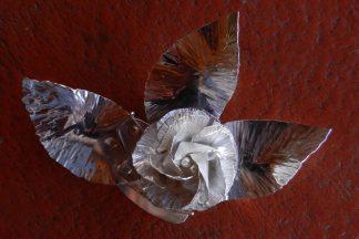 Flower in Sterling Silver