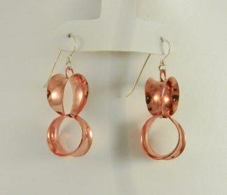 Darcie Style Earrings in copper.